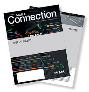 MGMA Connection Magazine - Enhanced Advertising